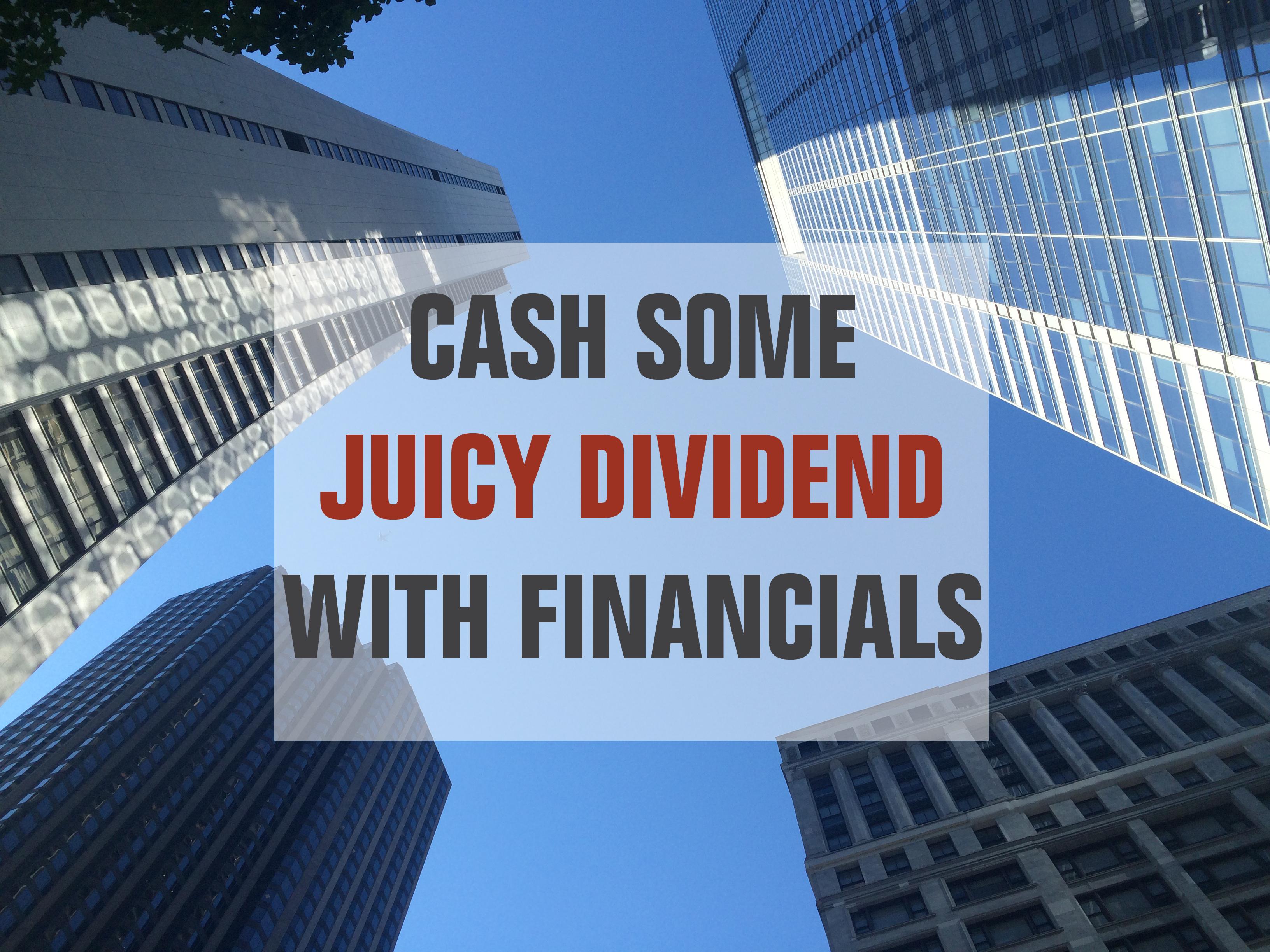 financial dividend stocks list